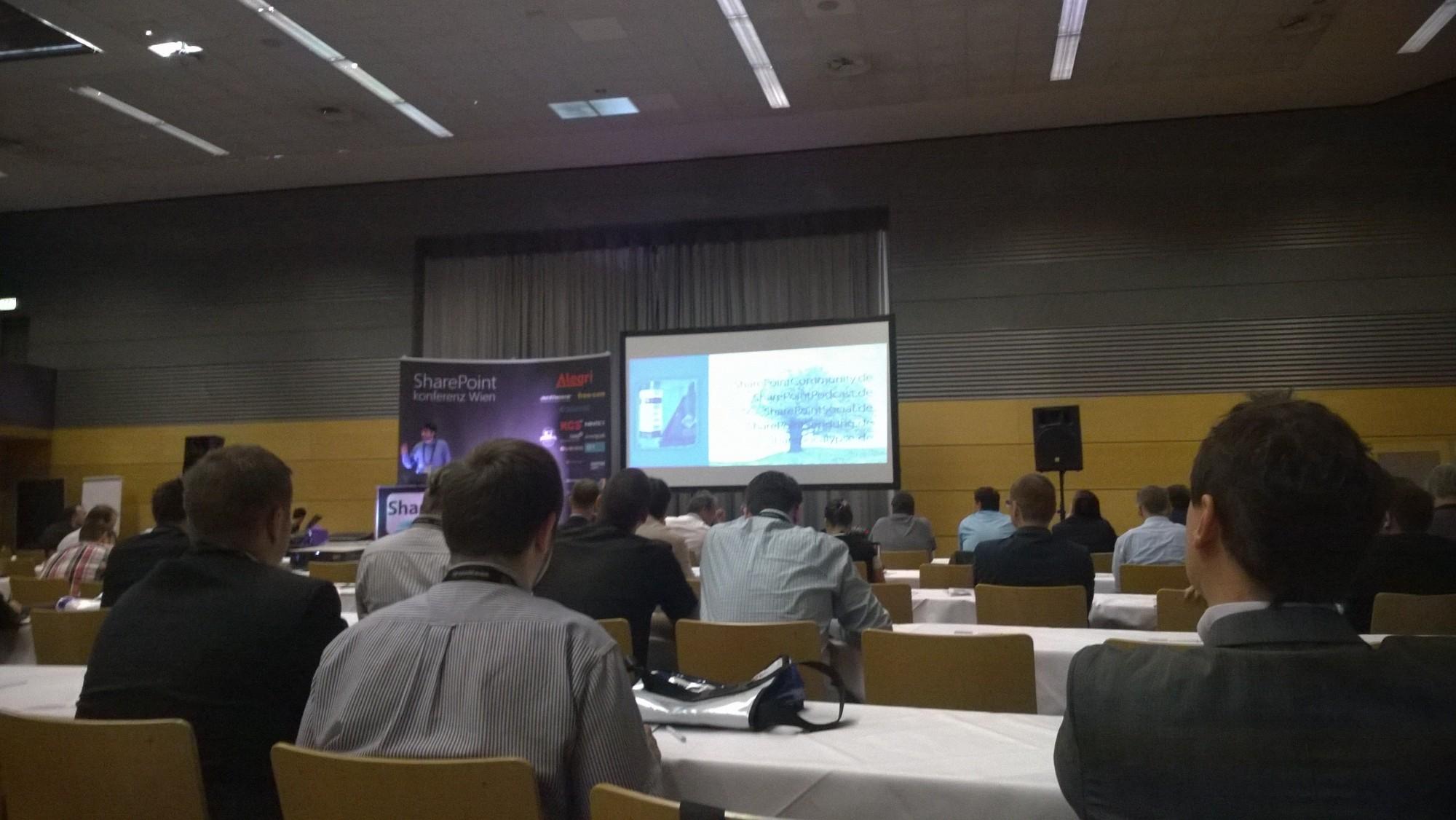 Sharepoint Konferenz 2014 Wien